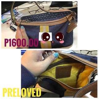 Preloved Coach handy Bag