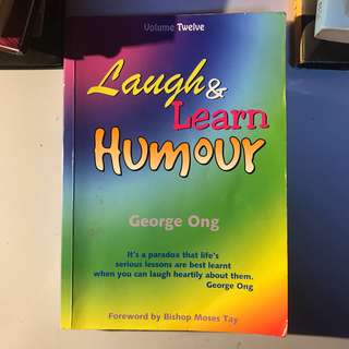 laugh & learn humour book by George Ong