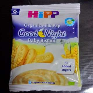 Free/To Bless: BNIP Hipp Organic Milk Pap Good Night Baby Biscuits / Cereal