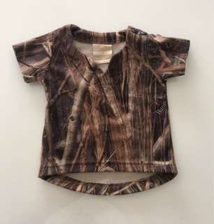 Hunting and Fishing top size 0