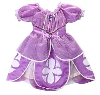 Sofia the first costume dress