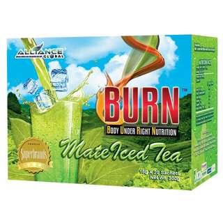Burn Matte Iced Tea