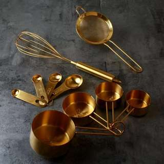 80s Vintage Times Measuring Spoon Set of 4