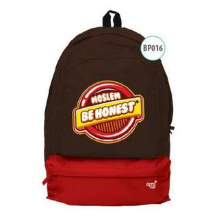 BackPack AfraKids - Moslem Be Honest - BP016