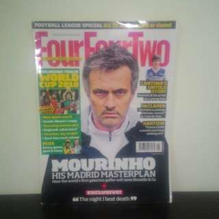 FOOTBALL Magazine FourFourTwo (UK) - AUGUST 2014