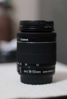 Canon kit lens 18-55 F.3.5 IS