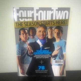 FOOTBALL Magazine FourFourTwo (UK) - SEPT 2010