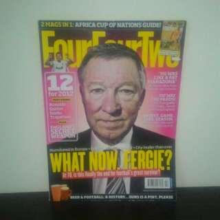 FOOTBALL Magazine FourFourTwo (UK) - FEB 2012