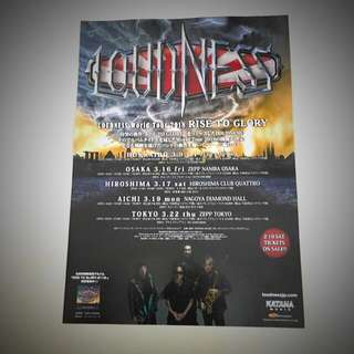 Loudness Rose To Glory latest tour Mini Poster