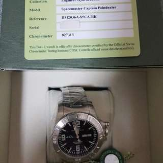 Ball Hydrocarbon Spacemaster Captain Poindexter Limited Edition