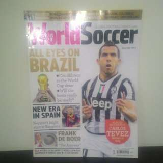FOOTBALL Magazines (COMBO Pack) - World Soccer + Arsenal Official Mag