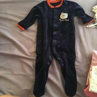 Preloved Sleepsuit Mark&Spencer 3-6 Months