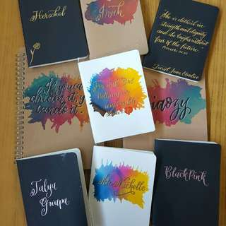 Personalized Notebooks/Notepads