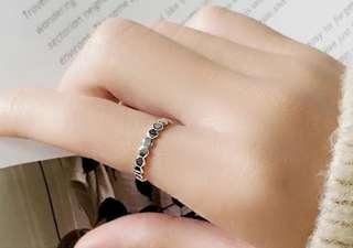 包郵 個性多邊形戒指