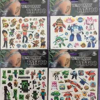 Temporary Tattoo sticker for kids