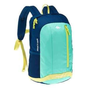 Tas Ransel Quechua Arpenaz 15 Junior Hiking Backpack Hijau Biru