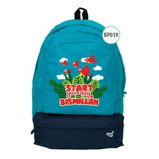 BackPack AfraKids - Start YourDay With Bismillah - BP019