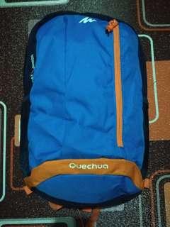 Tas Ransel Quechua Arpenaz Junior 15L Hiking Backpack - Blue