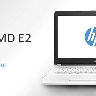 Kredit Laptop HP Bw002AU AMD E2 Window 10