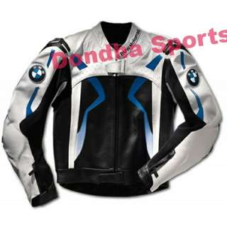 BMW SPORTS MOTORBIKE LEATHER RACING JACKET