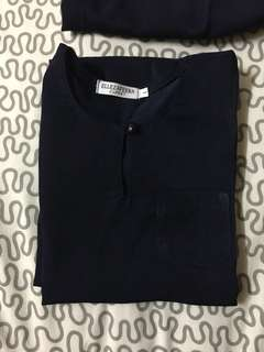 Baju Melayu Navy Blue