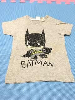 Authentic h&m batman shirt