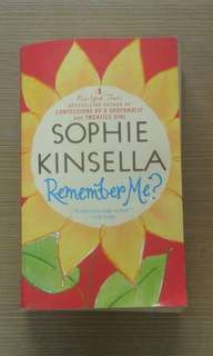 Remember Me? by Sophie Kinselle