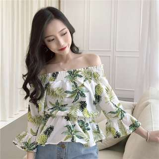 Pineapple Offshoulder