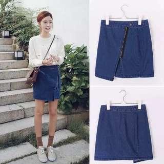BN Split Denim Skirt(Ready Stock)