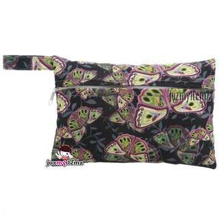 Multipurpose Small Wetbag | Clutch | Pouch - Butterfly