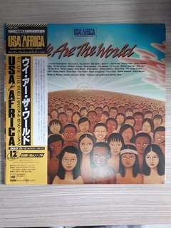 Vinyl Record LP - We Are The World - USA for Africa