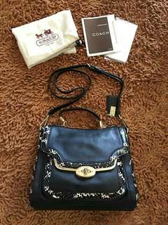 Brand New and Authentic Coach Bag with sling and dustbag