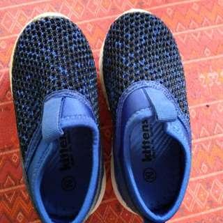 Kittens boys slip on running shoes
