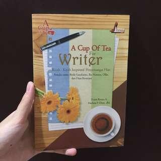#BONUSMARET Kumcer A Cup of Tea for Writer - Stiletto Book
