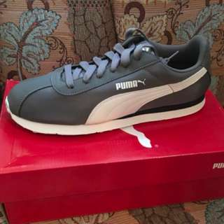 Charity Sale! Authentic Puma Shoes Turin NL Grey size 9.5US Men Brand New