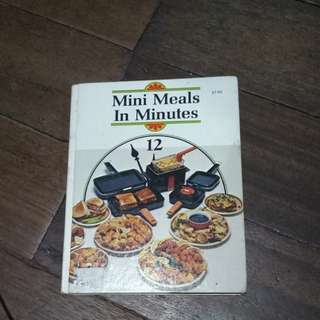 Minute meals cookbook