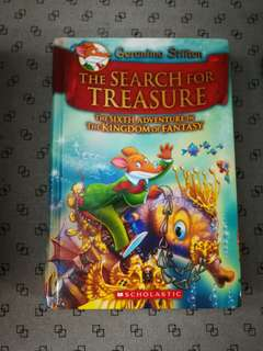 Hardcover: Geronimo Stilton - The search for treasure