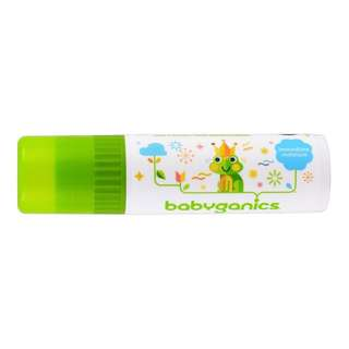 Babyganics Lip and Face Balm, Fragrance Free (USDA Organic)