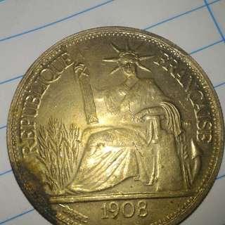 1908年钱币 价钱可以商量或者兑换物品