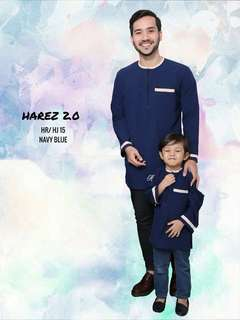 🔥SALE 🔥KURTA HAREZ 2.0 - Navy Blue