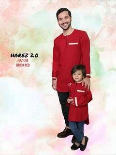 🔥SALE 🔥KURTA HAREZ 2.0 - Brick Red