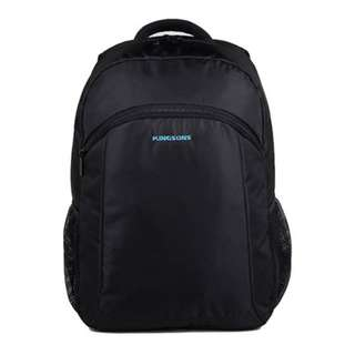 "KINGSONS 15.6"" black laptop backpack (Model : K8569W)"