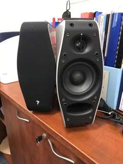 Focal XS Book Wireless Stereo 2.0 Powered Speaker System (comes with original Focal Bluetooth CSR AptX receiver)