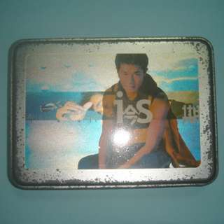 Louis Koo Popular CD 1st version RARE with tin box plus VCD