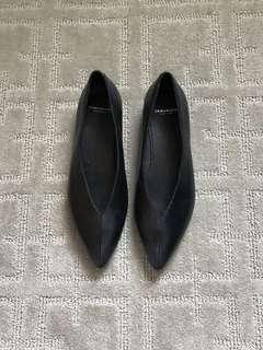 Vagabond leather pointy flats