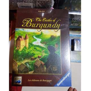 Castles of Burgundy Brand New Board Game