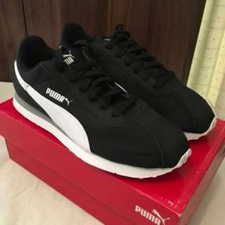 Charity Sale! Authentic Puma Running Black Shoes NL Turin Size 7.5US Men Brand New