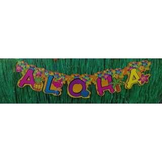 Aloha bunting