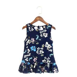 Baby Girl Floral Chiffon Dress