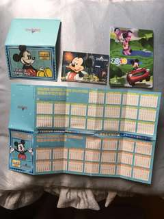 迪士尼全年票 2010年 絕版 Disney Disneyland